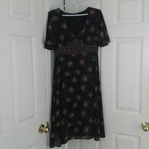 H&M v-neck floral dress